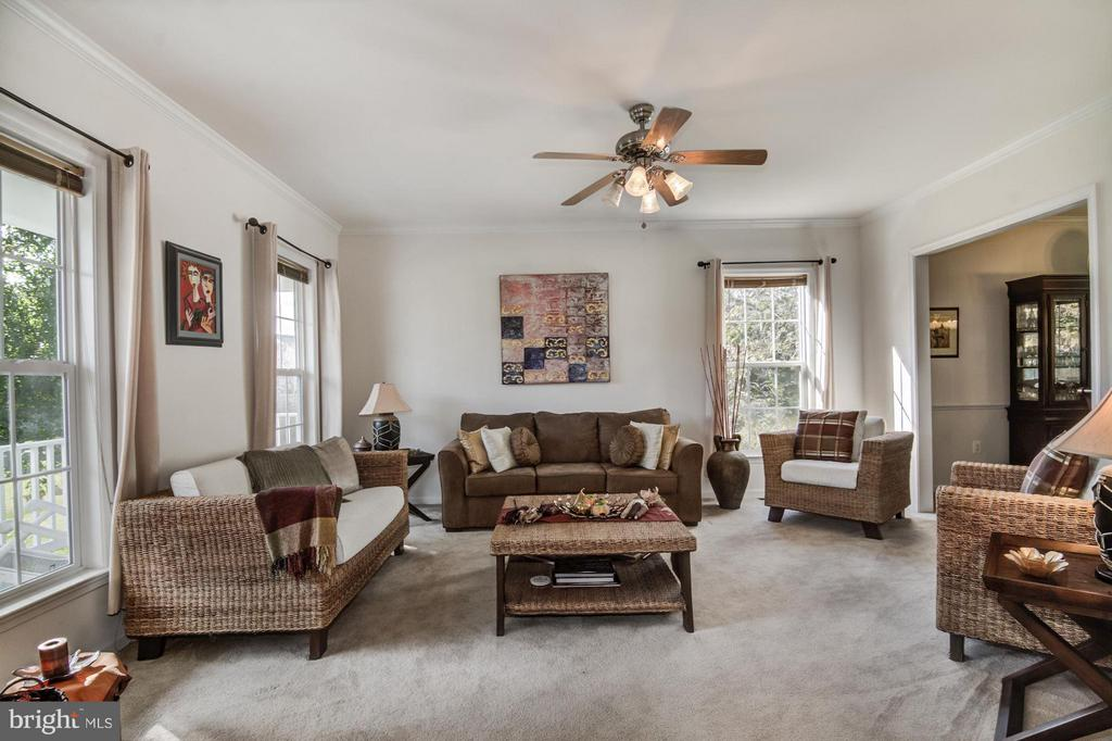 Living Room with Great Natural Light - 65 SAINT GEORGES DR, STAFFORD