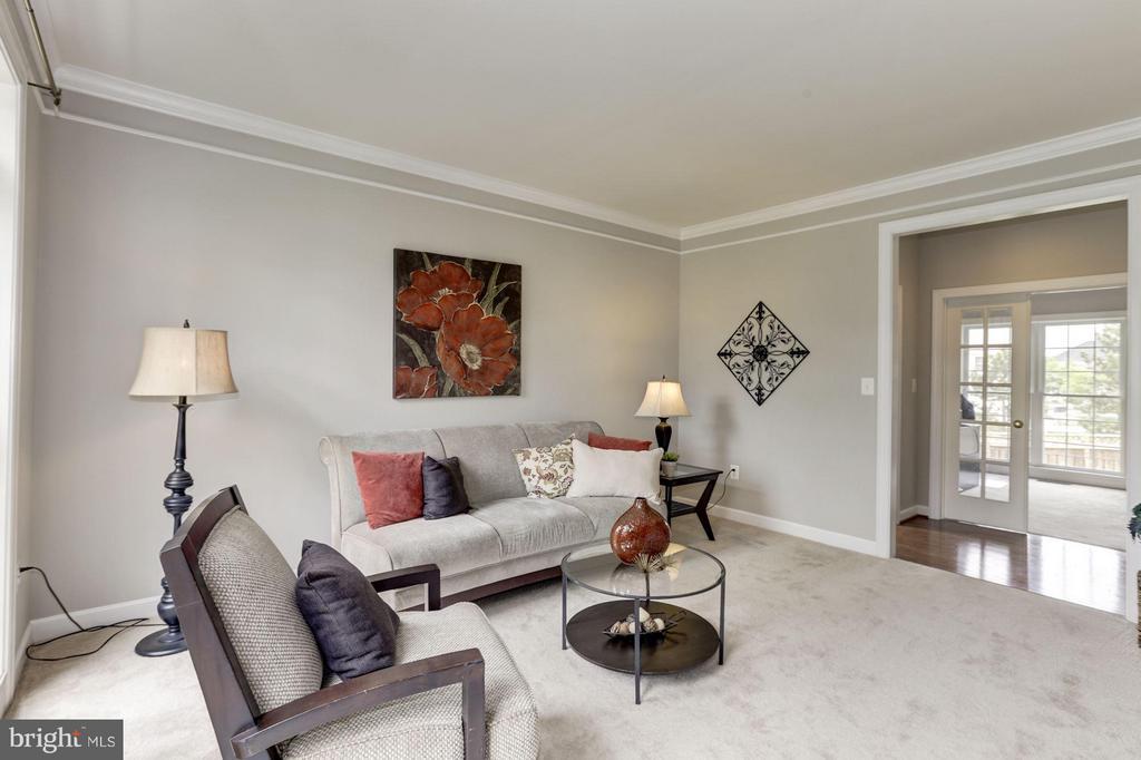 Living Room - 43046 CASTLEBAR ST, CHANTILLY
