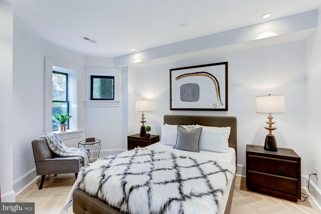 Lower Level - Bedroom #2 - 1309 R ST NW #1, WASHINGTON