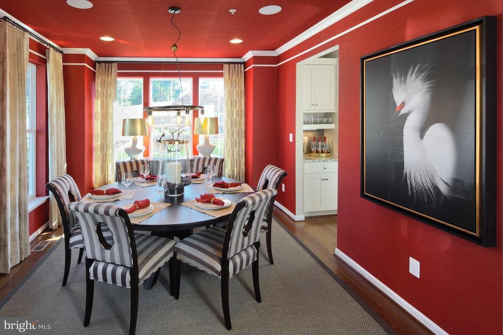 Dining Room - 5480 TALLYN RIDGE DR, FREDERICK
