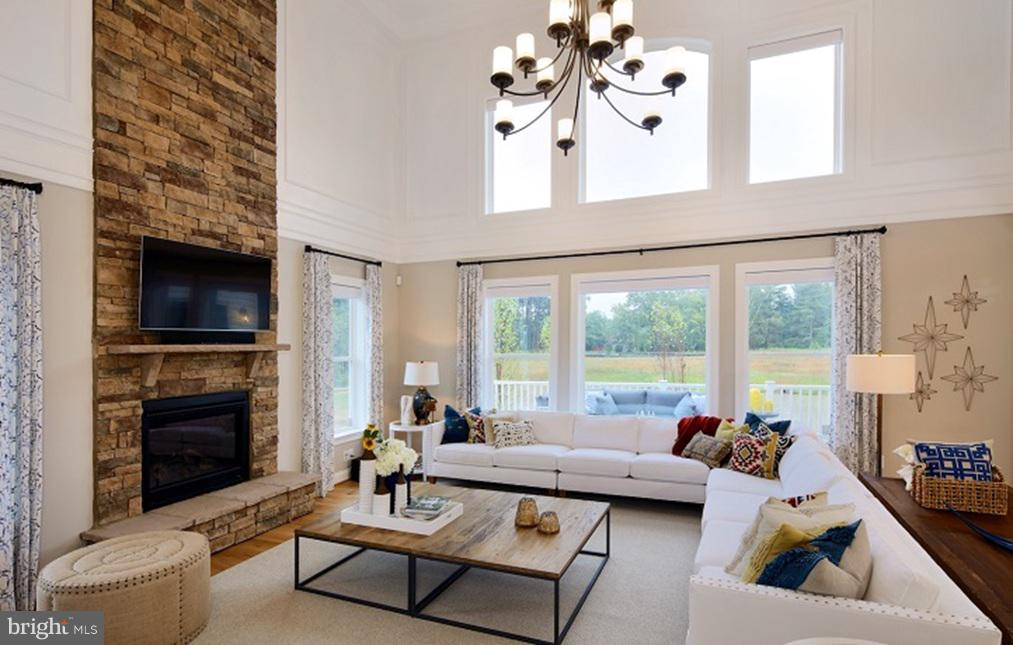 Great Room- Model Home - SOUTHER DRIVE- MACARTHUR, CENTREVILLE