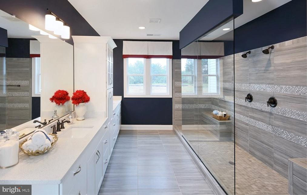 Master Bathroom- Model Home - SOUTHER DRIVE- MACARTHUR, CENTREVILLE