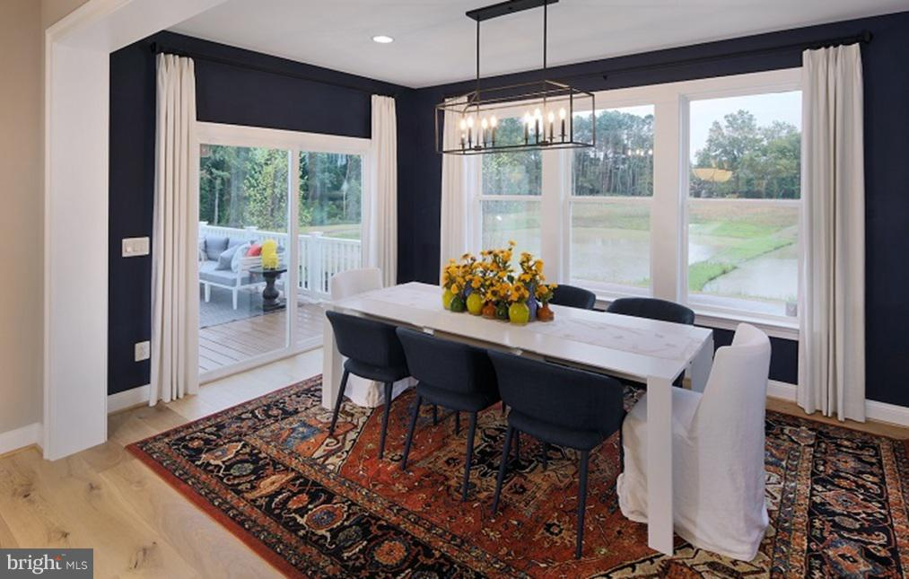 Morning Room- Model Home - SOUTHER DRIVE- MACARTHUR, CENTREVILLE