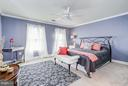 Bedroom with private bath - 5874 IRON STONE CT, CENTREVILLE