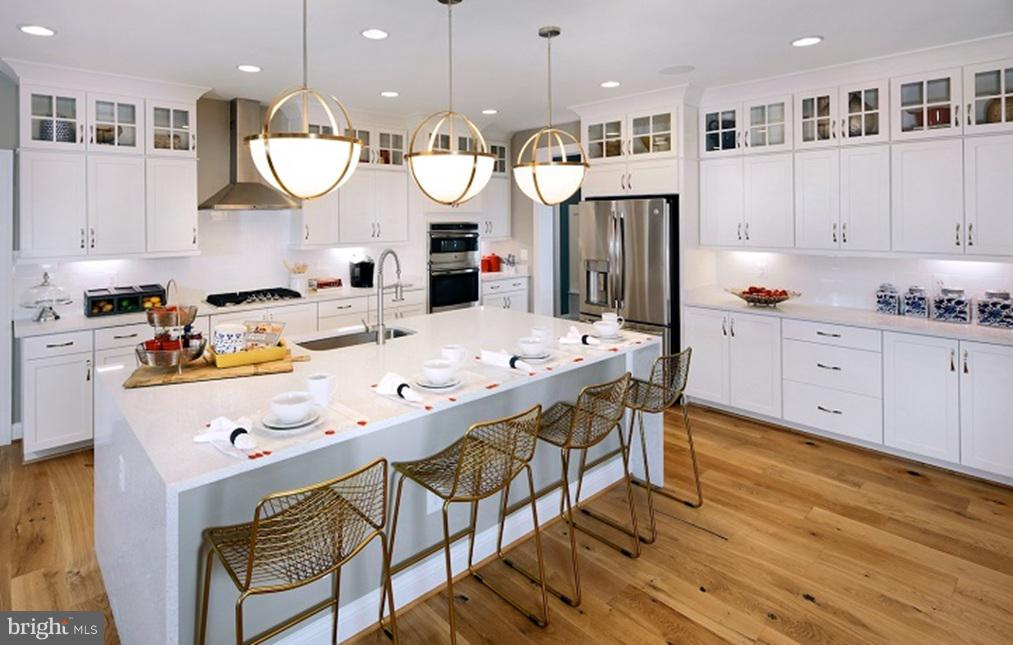 Kitchen- Model Home - SOUTHER DRIVE- MACARTHUR, CENTREVILLE