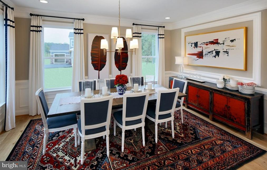 Dining Room- Model Home - SOUTHER DRIVE- MACARTHUR, CENTREVILLE