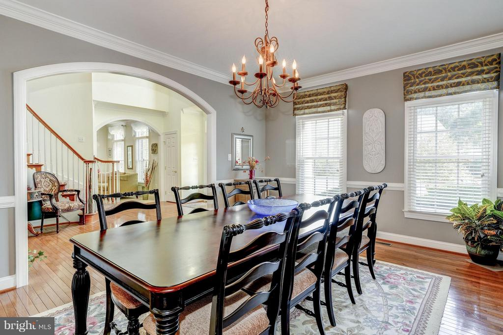 Dining Room - 5874 IRON STONE CT, CENTREVILLE