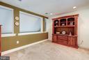 Study/den area near master bedroom - 5874 IRON STONE CT, CENTREVILLE