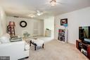 Loft with full bath and bedroom - 5874 IRON STONE CT, CENTREVILLE