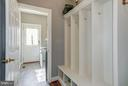 Mud room off kitchen - 5874 IRON STONE CT, CENTREVILLE