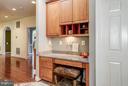 Kitchen desk - 5874 IRON STONE CT, CENTREVILLE