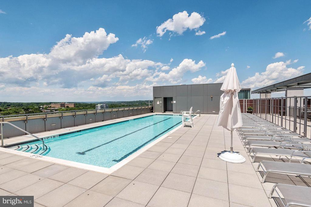 Rooftop Swimming Pool - 2001 15TH ST N #309, ARLINGTON