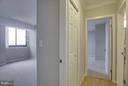 Entryway to bedrooms - 5505 SEMINARY RD #2506N, FALLS CHURCH