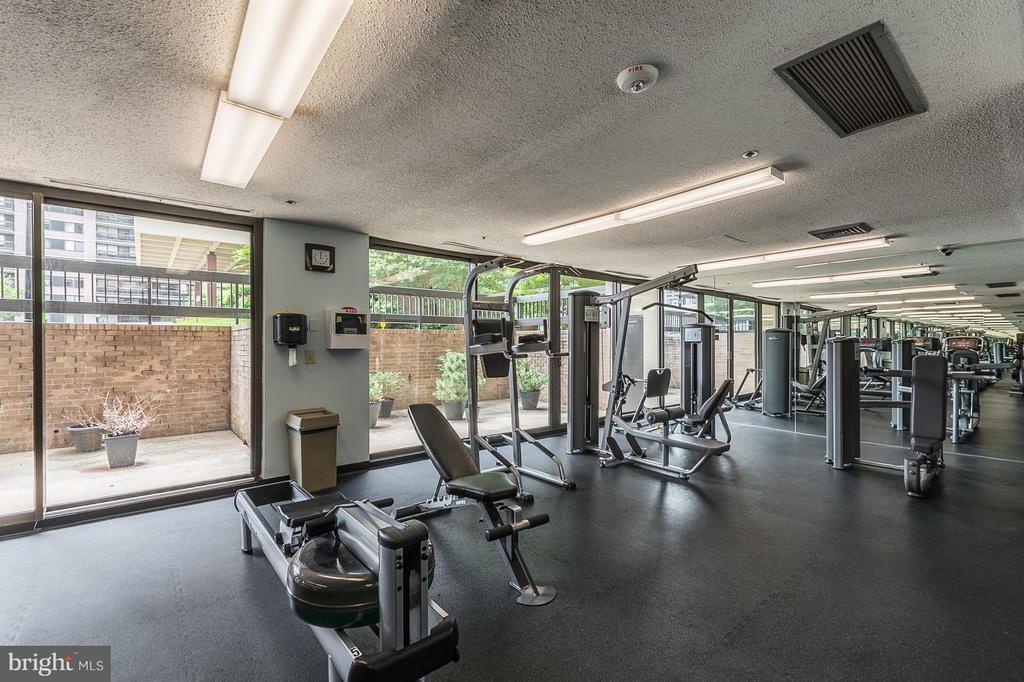 Exercise room - 5505 SEMINARY RD #2506N, FALLS CHURCH