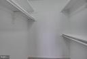 Walk in closet - 5505 SEMINARY RD #2506N, FALLS CHURCH