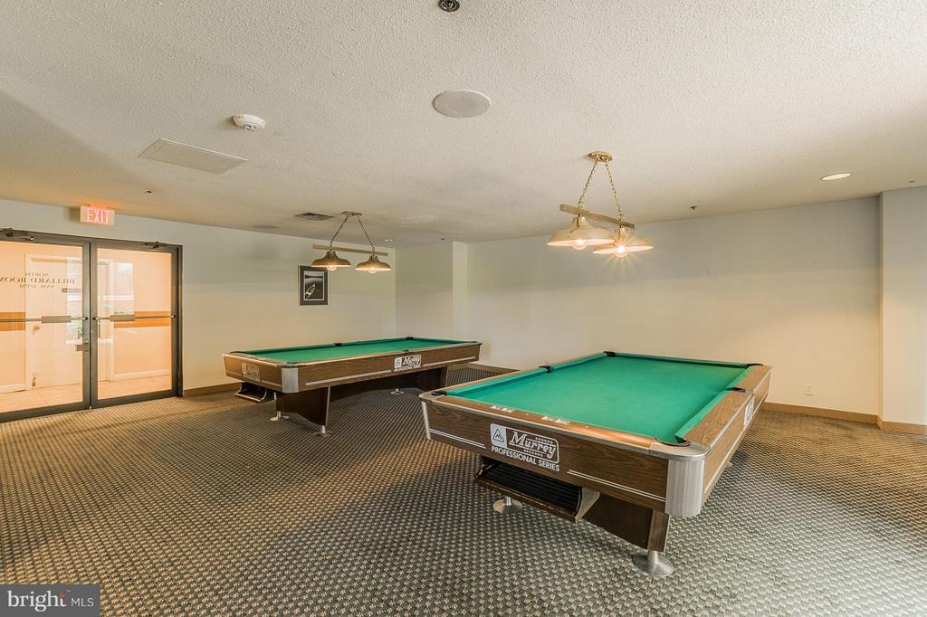 Billards room - 5505 SEMINARY RD #2506N, FALLS CHURCH