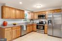 Updated kit boasts granite, new cabs and SS appls - 8813 WAXWING TER, GAITHERSBURG