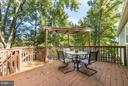 Fabulous multi-tiered deck - 8813 WAXWING TER, GAITHERSBURG