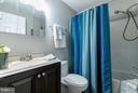 Hall bath - 8813 WAXWING TER, GAITHERSBURG