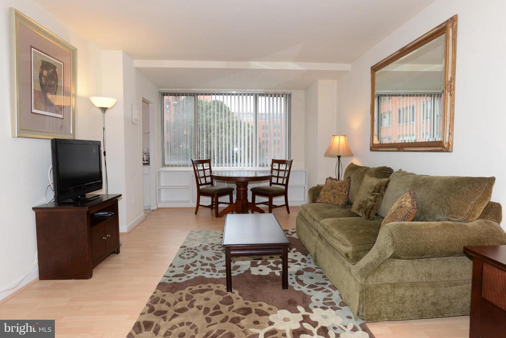 Living Room - 1121 ARLINGTON BLVD #646, ARLINGTON