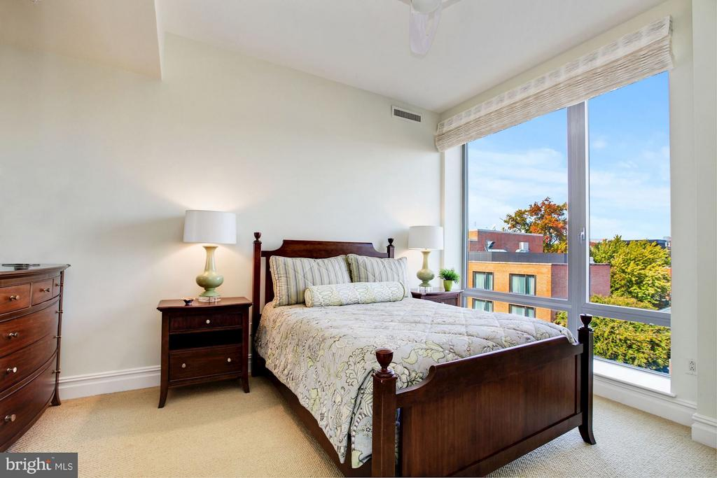 Bedroom Three with Georgetown Views - 3150 SOUTH ST NW #PH2D, WASHINGTON