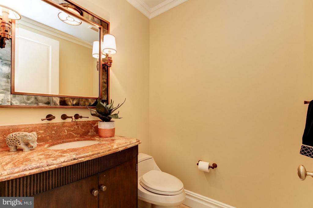 Powder Room - 3150 SOUTH ST NW #PH2D, WASHINGTON