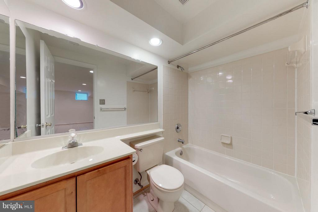 Basement Bathroom - 8114 GLENHURST DR, FAIRFAX STATION