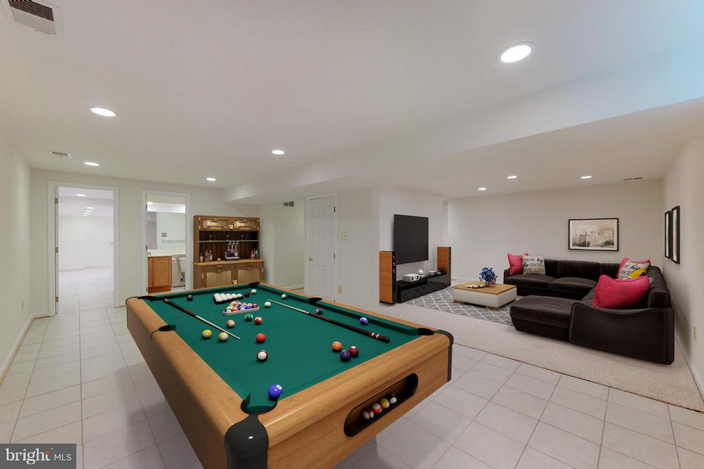 Basement - 8114 GLENHURST DR, FAIRFAX STATION