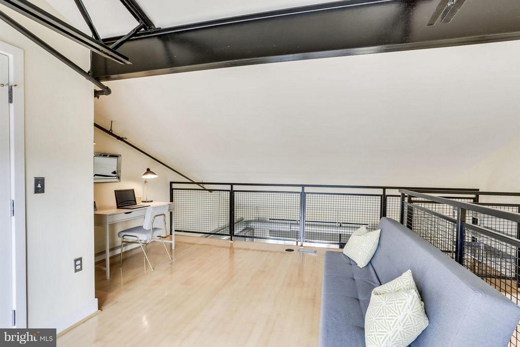 Home Office/loft with balcony located on 3rd floor - 2125 14TH ST NW #311W, WASHINGTON