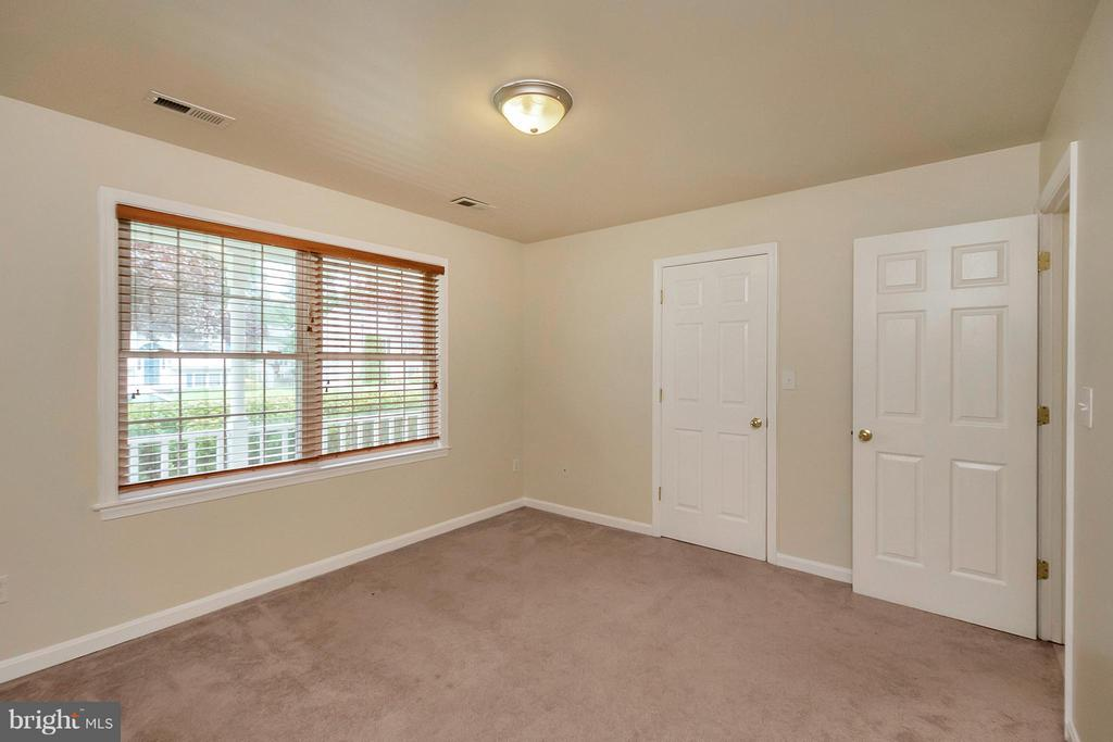 Bedroom 2 - main level - possible Master Bdrm - 10108 S. FULTON DR, FREDERICKSBURG