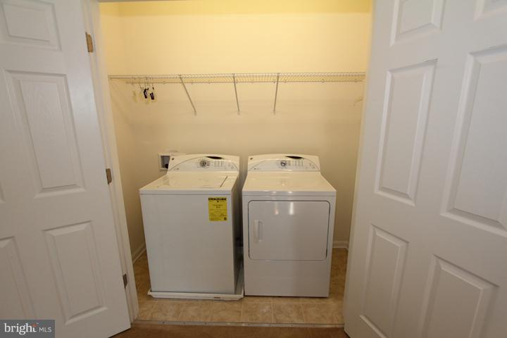 Laundry room - 9551 SOUTH HALL TER, MANASSAS