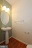 Lower level bath with new hardwood floors - 9551 SOUTH HALL TER, MANASSAS