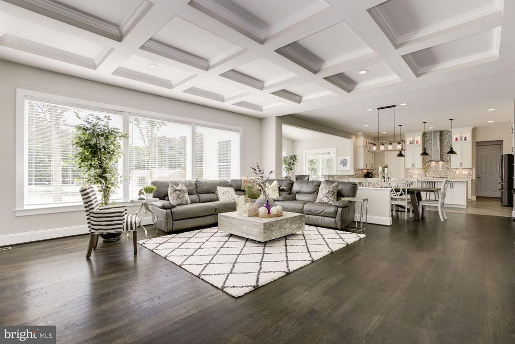 Beautiful coffered ceilings - 5694 COLCHESTER RD, CLIFTON