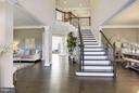 Grand two story foyer - 5694 COLCHESTER RD, CLIFTON