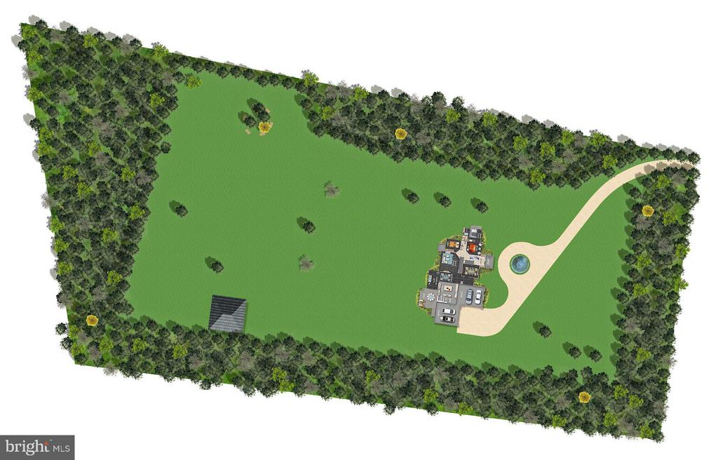 Site Plan - 5694 COLCHESTER RD, CLIFTON