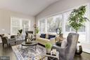 Beautiful sunroom - 5694 COLCHESTER RD, CLIFTON