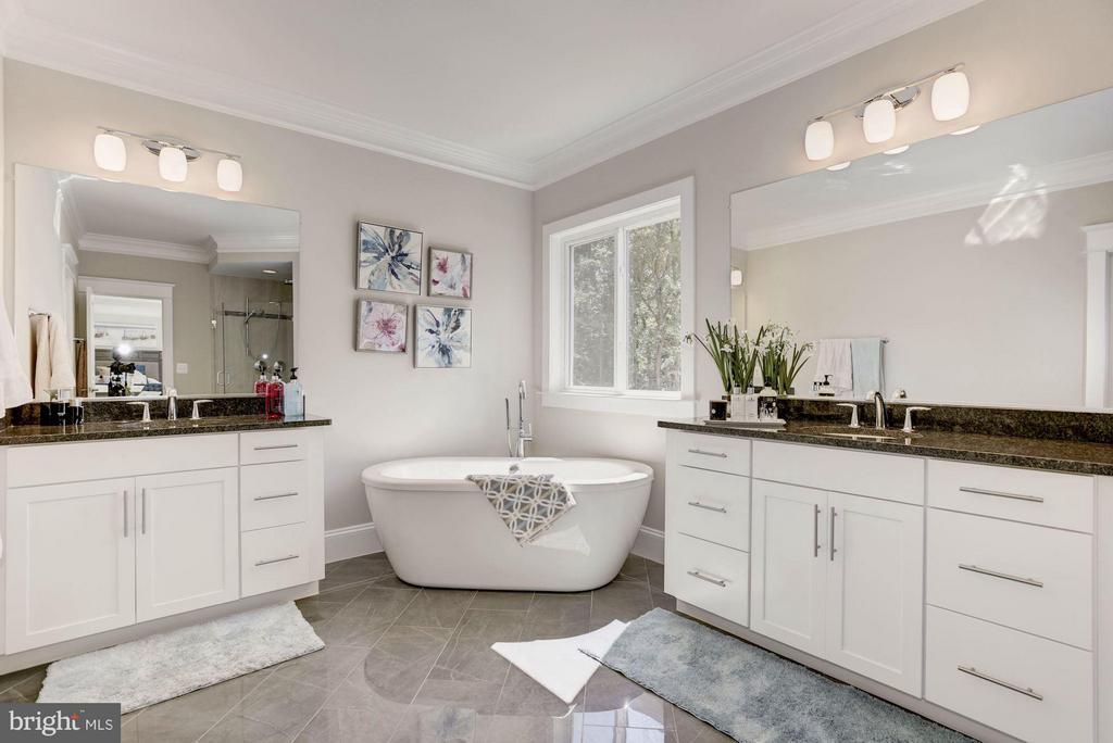 Lovely spa-like bath - 5694 COLCHESTER RD, CLIFTON
