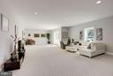 Loads of natural light in lower level - 5694 COLCHESTER RD, CLIFTON