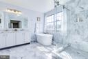Bath (Master) - 22006 HYDE PARK DR, ASHBURN