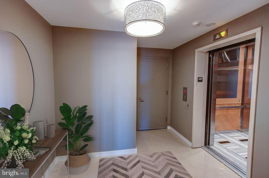 Private Elevator Entry - 1881 NASH ST #1404, ARLINGTON