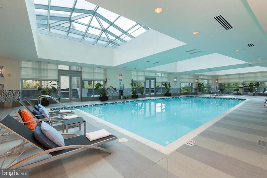 Indoor Pool - 1881 NASH ST #1404, ARLINGTON