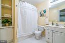 Full Basement Bathroom perfect for Guest's Privacy - 20660 PARKSIDE CIR, STERLING