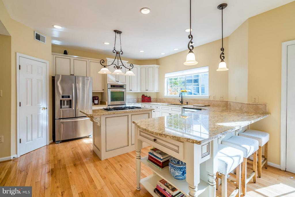 Top of the Line GOURMET Kitchen Renovation... - 20660 PARKSIDE CIR, STERLING