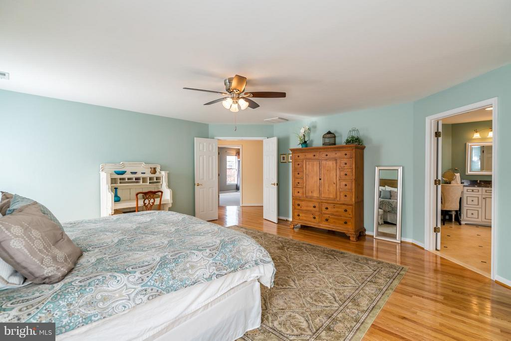 HUGE Master Bedroom with En Suite Bathroom - 20660 PARKSIDE CIR, STERLING