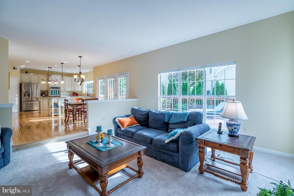 Open Floor Plan creates the Perfect Great Room - 20660 PARKSIDE CIR, STERLING
