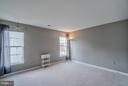 Huge Secondary Bedroom #3 on Upper Level - 20660 PARKSIDE CIR, STERLING