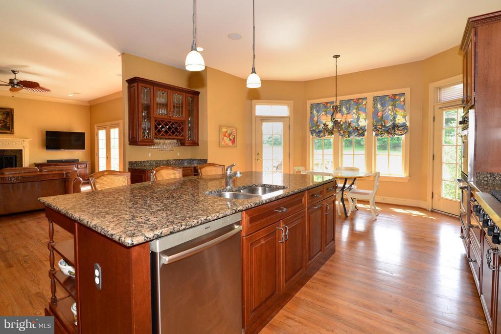 Gourmet kitchen - 41707 PUTTERS GREEN CT, LEESBURG