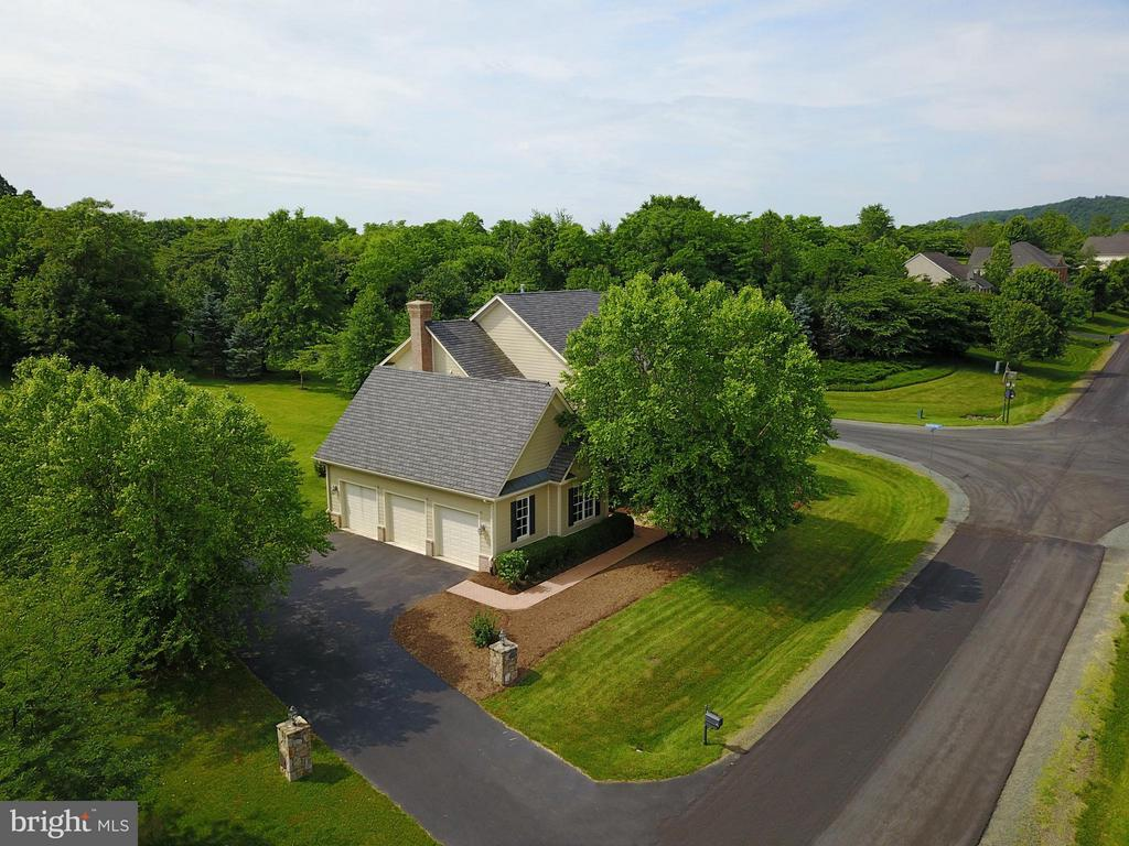 Three car garage and large driveway - 41707 PUTTERS GREEN CT, LEESBURG