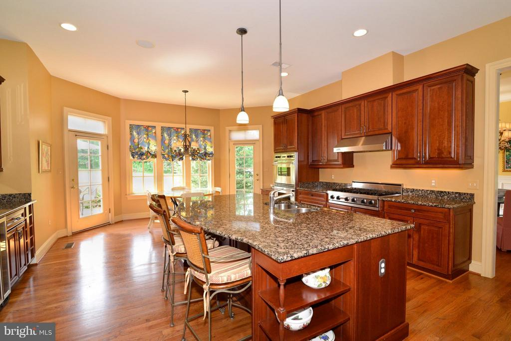 Large kitchen island - 41707 PUTTERS GREEN CT, LEESBURG