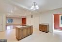 Kitchen View to Family Room - 1341 GORDON LN, MCLEAN